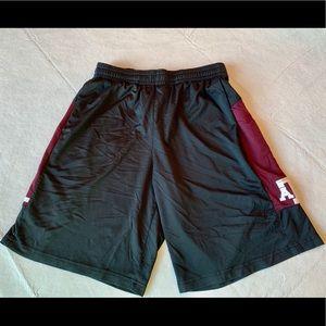 Men's Adidas Texas A&M Mesh Basketball Shorts-M